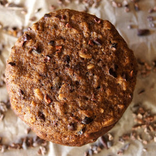Chocolate, Oat and Espresso Breakfast Cookie