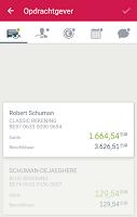 Screenshot of New Belfius Direct Mobile