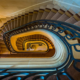 Stair by Strange Jazzy - Buildings & Architecture Other Interior ( chantilly 2016 )