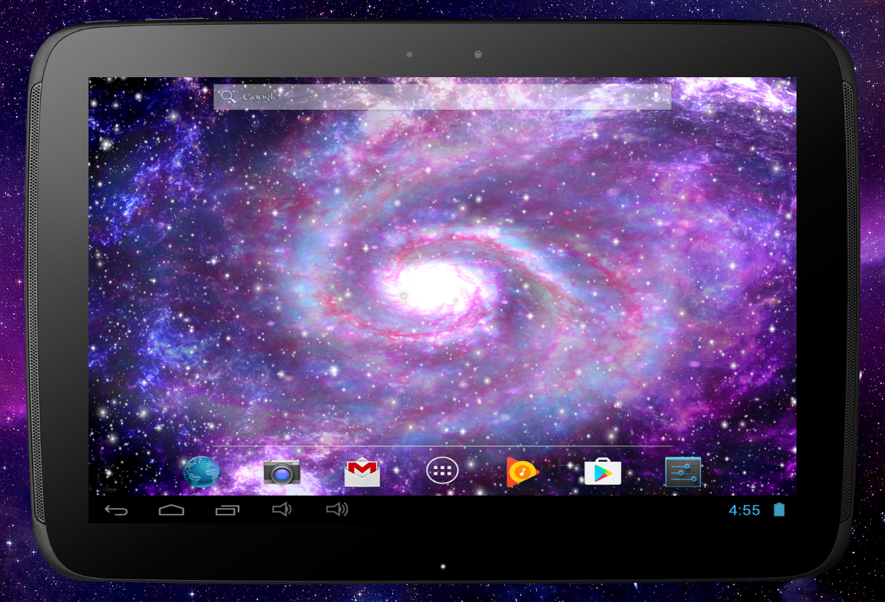 Galaxy Pro Live Wallpaper Screenshot 11
