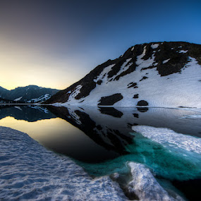 Summit Lake by Walter Hsiao - Landscapes Waterscapes ( hoover wilderness, yosemite, summit lake )