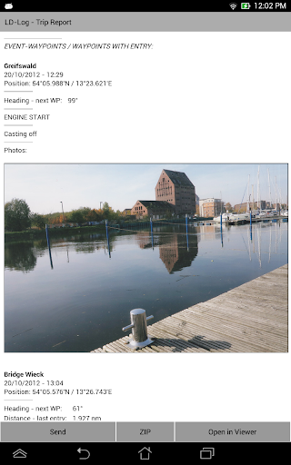 LD-Log - GPS Tracker & Logbook - screenshot