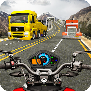 Highway Bike Riding Free Bike Games Icon