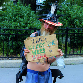 New Orleans Guy by Christie Henderson - People Street & Candids