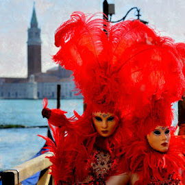 Venice carnival by Carlo Gulin - People Couples ( venezia, carlogulin, carnival, venice, masck )