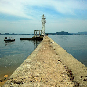 Clock by Leonardo Cardoso - Instagram & Mobile Android ( water, brazil, time, clock, sea, island )