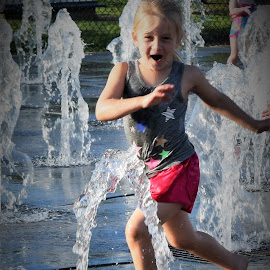 Summer Fun! by Lorna Littrell - Babies & Children Children Candids ( water, splashing, summer, children candids, children, children photography )