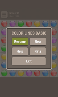 Color Lines Basic - screenshot