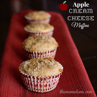 Apple Cream Cheese Muffins