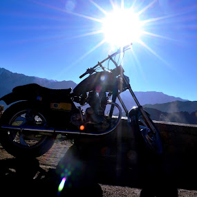 Soulmate by Siddhartha Chitranshi - Transportation Motorcycles ( leh, bike, motorcycle, india, ladakh, travel )