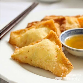 Description Fried Wonton Dumplings (Hoanh Thanh Chien)
