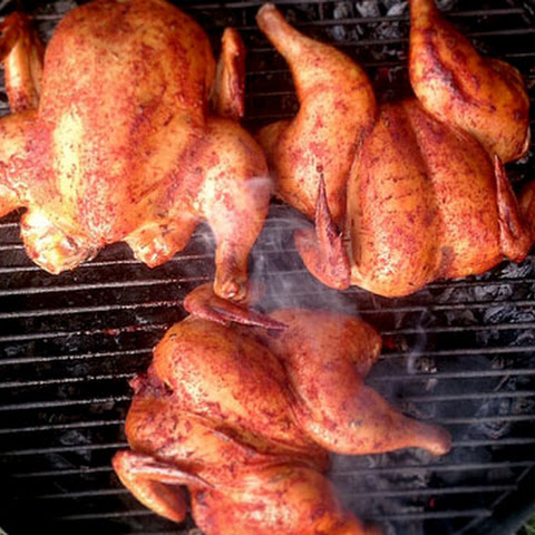Grilled Butterflied Cornish Hen or Chicken