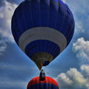 Hot air balloon by Nunsyinrayakaf Ainzalmimya - Transportation Other
