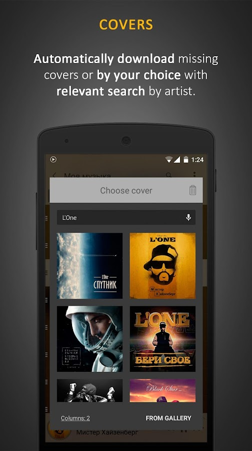 Stellio Music Player Screenshot 2