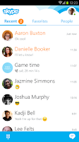 Screenshot of Skype - free IM & video calls