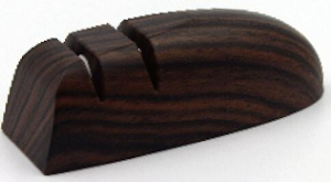 Точилка для ножей (ножеточка) двухзонная настольная, под дерево