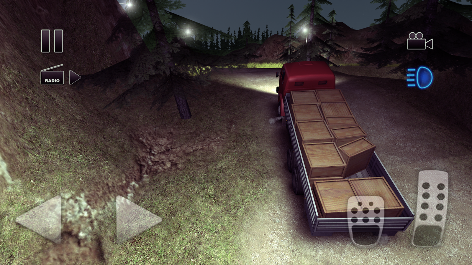 Truck Driver crazy road Screenshot 0