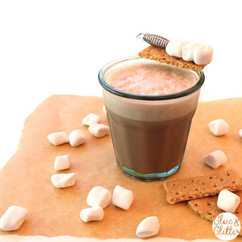 S'mores Vodka Flip