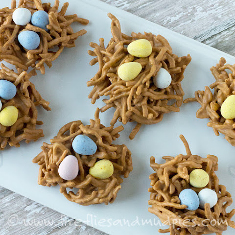 Bird's Nest Cookies