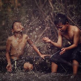 by Kosmas Fikie Aryadi - Babies & Children Children Candids