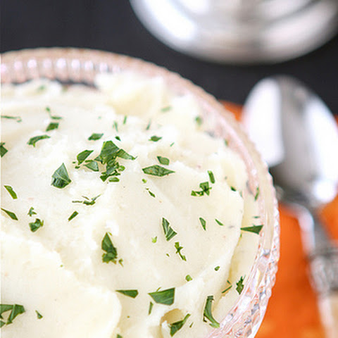 Creamy & Low-Fat Mashed Potatoes