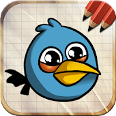 APK App Easy Draw Very Angry Birds for BB, BlackBerry