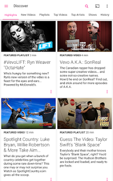 Vevo - Watch HD Music Videos APK screenshot thumbnail 11
