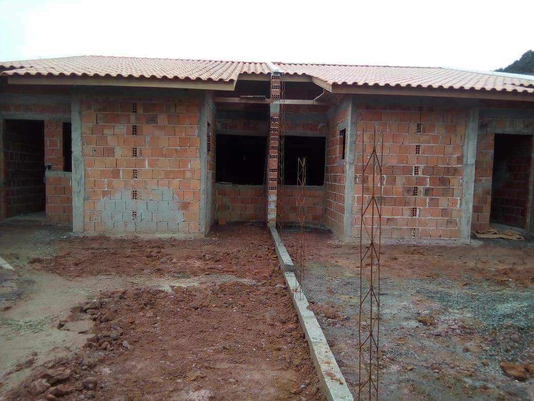 Casa com 2 dormitórios à venda, 64 m² por R$ 130.000 - Praia dos Veleiros - Itapoá/SC