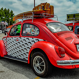 Holiday by Jim Harris - Transportation Automobiles ( car, holiday, vw, vacation, automobile, bug, classic )