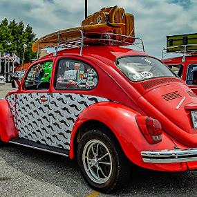 Holiday by Jim Harris - Transportation Automobiles ( car, holiday, vw, vacation, automobile, bug, classic )