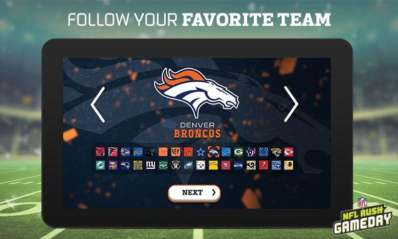 NFL Rush Gameday Screenshot 1