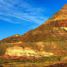 Volcano Layers by David Walters - Landscapes Mountains & Hills ( volcano, nature, lumix fz200, layers, big bend national park, landscape )