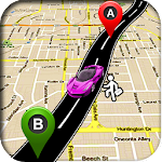 GPS Route Finder - GPS, Maps, Navigation & Traffic Icon
