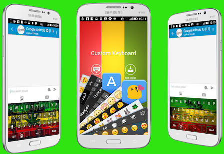 Rasta Mania Emoji Keyboard - screenshot