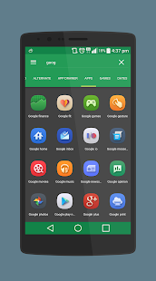Belle UI Icon Pack Screenshot