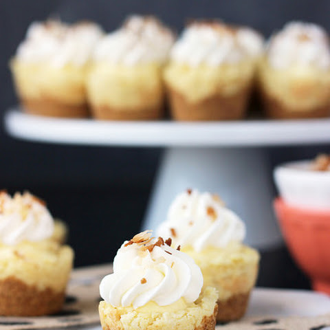 Coconut Cream Pie Cookie Cups