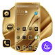 Golden Silk APUS Launcher Theme APK