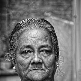 Mother by Sovan Chattopadhyay - People Portraits of Women