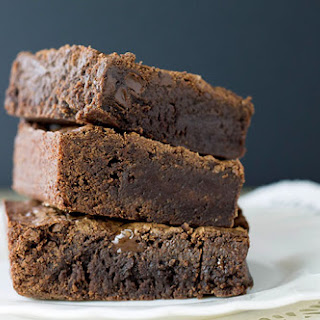 Triple Chocolate Fudge Brownies