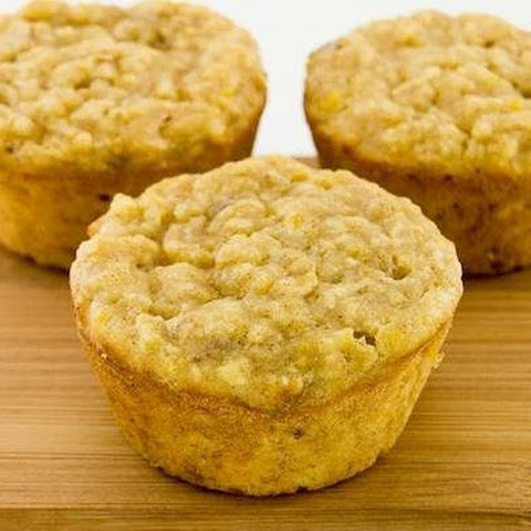 High-Protein Banana Oat Muffins