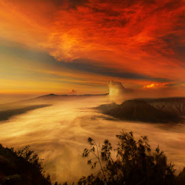 In the top of Mount Bromo by Muhasrul Zubir - Landscapes Sunsets & Sunrises