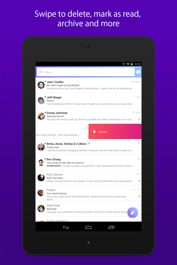 Yahoo Mail – Stay Organized Screenshot 9