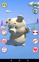 Screenshot of Talking Piggy