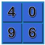 4096 - 2d Puzzle Android Game Icon