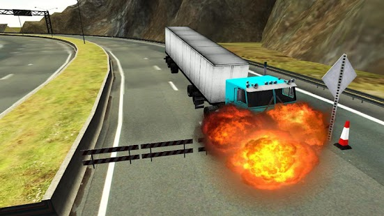 American Truck 3D Simulator - screenshot
