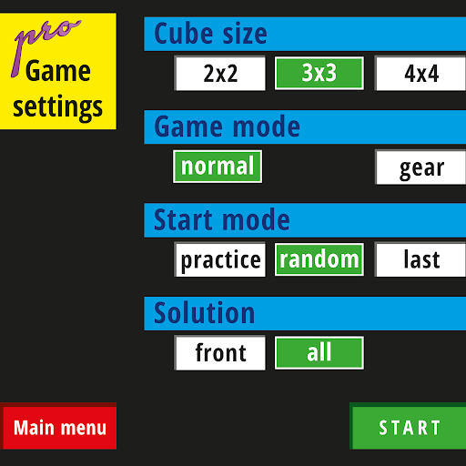ROT8 CUBES pro - screenshot
