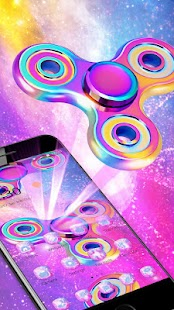 Neon Fidget Spinner Theme