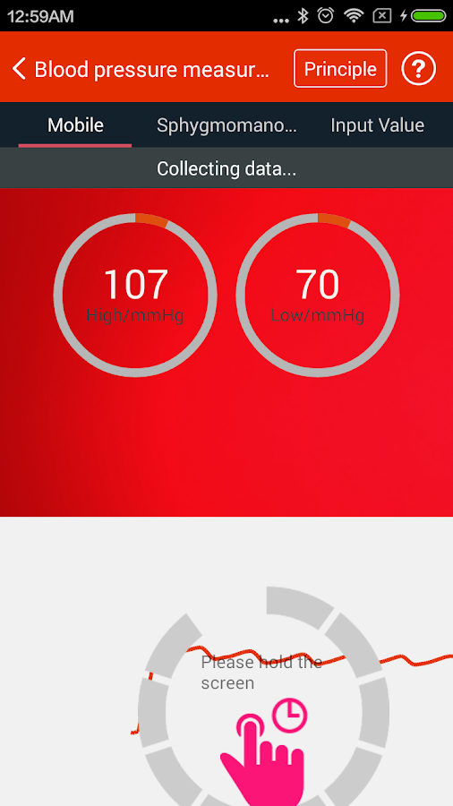 iCare Blood Pressure Pro Screenshot 2