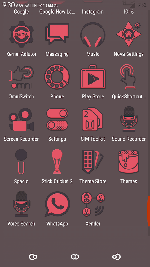 Spacio Icon Pack Screenshot 5