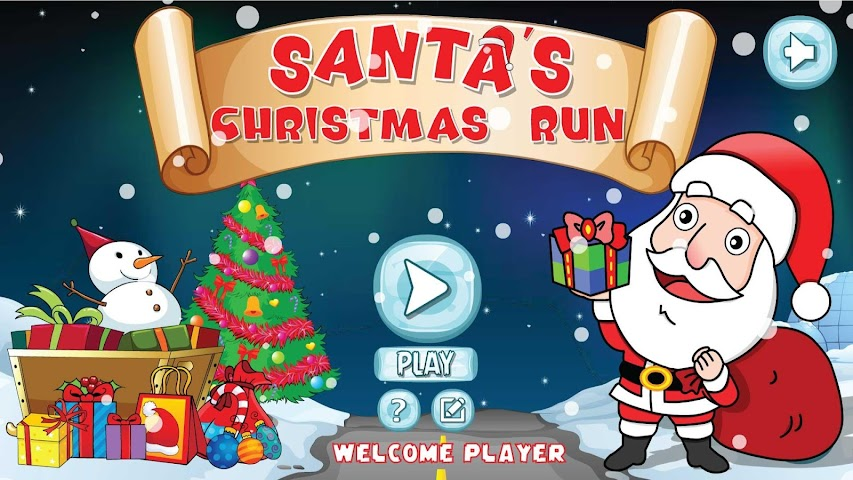 android Santa Christmas Run Screenshot 0
